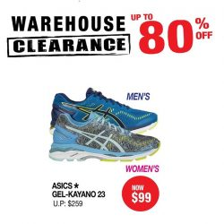 [Running Lab] The Outdoor Venture Warehouse Sale has commenced!
