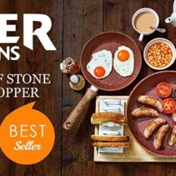 [JML] JML Copper Stone PansThis amazing value offer gives you all three sizes of our brand new Copper Stone Pans,
