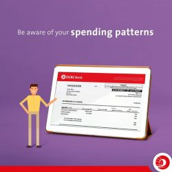 [OCBC ATM] Paying attention to the details in your monthly bank statements can impact your month-to-month decisions.