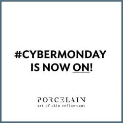 [Porcelain Aesthetics] CYBERMONDAY is now ON!