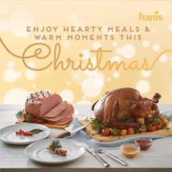 [Hanis Café & Bakery] Come by this weekend to have a look at our Christmas catalogs and make your purchases before they are fully