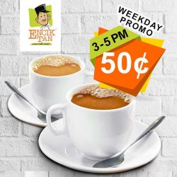 [Encik Tan] Have you heard of our Teatime Promotion yet?