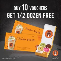 [J.Co Donuts & Coffee] Looking for a nice gift for your friends and colleagues this coming holiday season?