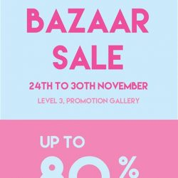 [Isetan] Join us at Samantha Thavasa Bazaar Sale, with up to 80% off all bags and wallets.