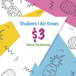 [The Nail Status] All time popular Students, Air Crews and TNS Members promotion !
