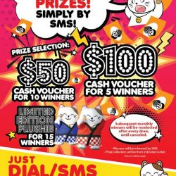 [Manekineko Karaoke Singapore] You are just one sms away from winning our monthly prizes!
