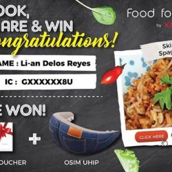 [Xndo] We have organised a Cook, Share and Win giveaway and thank you OSIM SG for the collaboration!