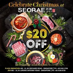 [SEORAE] Seorae Festive Deal for All BBQ Lover!
