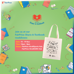 [NTUC FairPrice] FairPrice Share-A-Textbook goes digital!