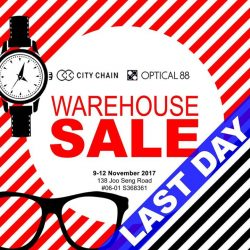 [City Chain Primo] ENDS TODAY: It's the LAST DAY to bring home your favourite timepieces at incredible prices!