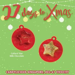[Candylicious] Starry starry night, paint your Christmas tree red and gold.