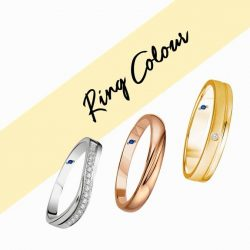 [Goldheart Jewelry Singapore] The wedding ring to fall in love with everyday.