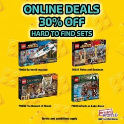 [Pro Trim Hair Studio] Bricks World Online DealsEnjoy 30% off on these 4 selected hard-to-find sets.