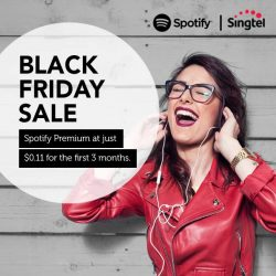 [Singtel] Spotify Premium Black Friday Sale is here!