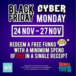 [Simply Toys] BLACK FRIDAY & CYBER MONDAY PROMOTION!