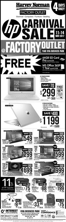 [Harvey Norman] HarveyNormanSG Mighty 16th Anniversary Sale continues at all stores and www.