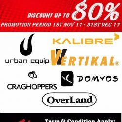 [Sports Connection] Sale Promotion Up To 80% Discount!