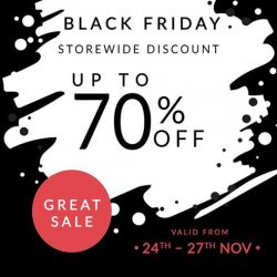 [Microkid Learning Centre] Don't forget to check out Black Friday's storewide discount at Solemates (01-29).