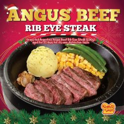 [PEPPER LUNCH] Reward yourself with Angus Beef Steak, imported from Argentina.