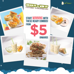 [Mr Bean Singapore] Bean It to Win It with Mr Bean's soylicious Combo Deals, from $5 onwards, and stand a chance to
