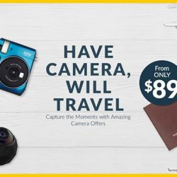 [Courts] Be ever-ready for an ootd shot during your travels with these snappy deals on cameras!
