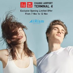 [Uniqlo Singapore] Flying out of Singapore?