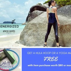 [Ninth Collective] Buy $80 or more from the Energized Collection and get a hula hoop or yoga mat FREE!