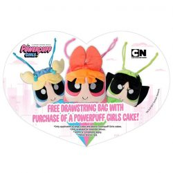 [Polar Puffs & Cakes Singapore] Powerpuff Girls cakes out now!