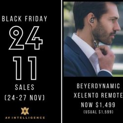 [AV Intelligence] Blacks Friday Sales is still on!