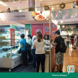 [7-Eleven Singapore] Join us now til 13 November, 10:30am-10pm, at ION Orchard for the SPRING Singapore Just Nice Ready-to-