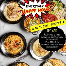 [49 Seats] Everyday is HAPPY HOUR at 49 Seats !