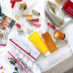 [Clarins] Pamper and reward yourself with our exclusive Christmas gift sets at: bit.