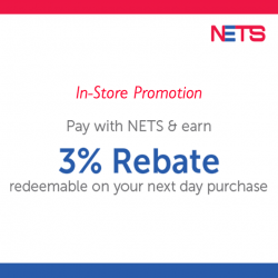 [LMD Collections] Get 3% Rebate by using Nets to pay for your purchase in our retail stores!