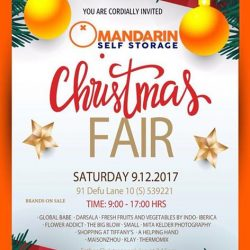 [Shopping at Tiffany's] Join us at Mandarin Self Storage for a great day of shopping and a great chance to grab a bargain