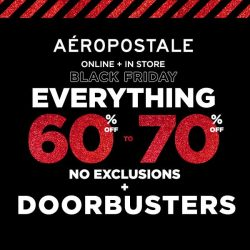 [Aeropostale] GET READY FOR OUR BEST BLACK FRIDAY SALE YET.