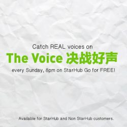 [StarHub] Pop, rock, ballad or whatever genre of songs you like, we got you covered on The Voice 决战好声。 Don't miss