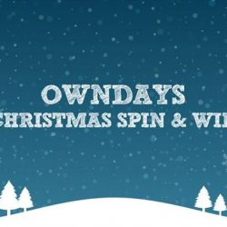 [Owndays Singapore] Join us as we count down to Christmas with a Spin & Win game in our stores!