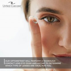 [United Optometrist] Do you know that it is important to purchase contact lenses from a qualified optometrist?