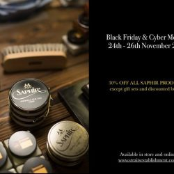 [Saphir] BLACK FRIDAY & CYBER MONDAY• Exclusive 30% off all Saphir Medaille d'or, Saphir Beaute Du Cuir & La Cordonnerie Anglaise products•