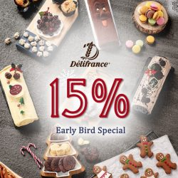 [Delifrance Singapore] In need for some Christmas Sweets?