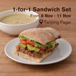 [Cedele] Celebrate our new outlet's opening at Tanjong Pagar with us!