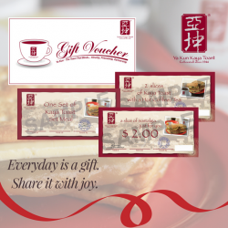 [Ya Kun Kaya Toast] Gifting season is upon us!