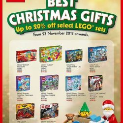 [Toy Station] LEGO SINGAPORE TOP 10 X'MAS GIFTS FOR 2017.