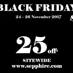 [SEPPHIRE] Black Friday Sale is coming.