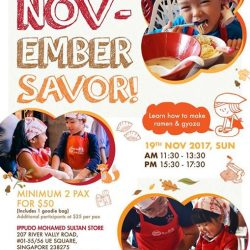 [Ippudo Express] Dear Customers,We will hold the next Child Kitchen Event on 19 November in Singapore.