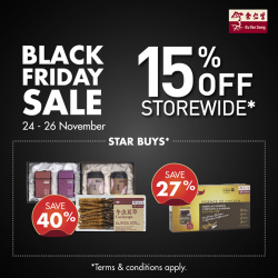 [Eu Yan Sang] It's an extra happy TGIF with our Black Friday promotion!