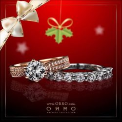 [ORRO Jewellery] Celebrate a Magical Christmas at ORRO★ Xmas Promotion Now On★A time of glad tidings, what better way to make