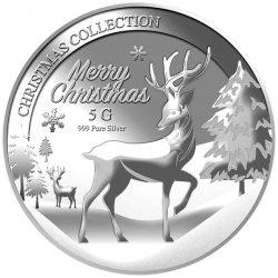 [Puregold] Another option that will suit your pocket is 5G 2016 CHRISTMAS REINDEER SILVER COIN.