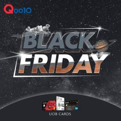 [UOB ATM] Get Everything you need at Qoo10 Singapore this Black Friday!
