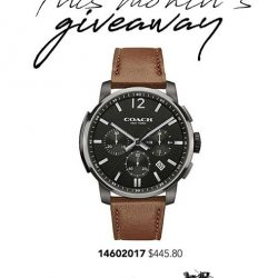 [H2 Hub] Join H2Hub CRM programme to stand a chance to win a watch each month.